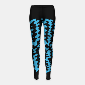 Thumbnail image of Good Vibes Typo Girl's leggings, Live Heroes
