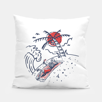 Thumbnail image of Relax Skeleton Pillow, Live Heroes