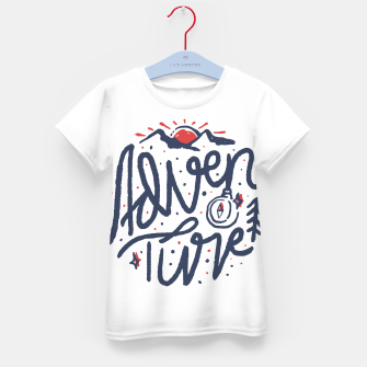Thumbnail image of Adventure Typo Kid's t-shirt, Live Heroes