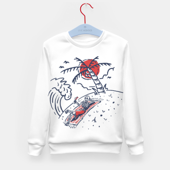 Thumbnail image of Relax Skeleton Kid's sweater, Live Heroes