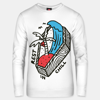 Thumbnail image of Rest in Chill Unisex sweater, Live Heroes