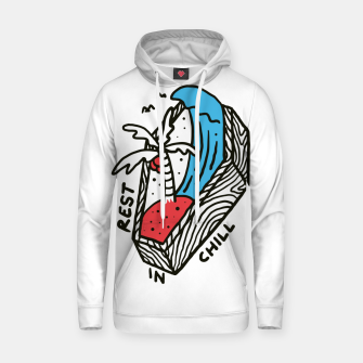 Thumbnail image of Rest in Chill Hoodie, Live Heroes