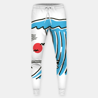 Thumbnail image of Funny Surf Nose Sweatpants, Live Heroes