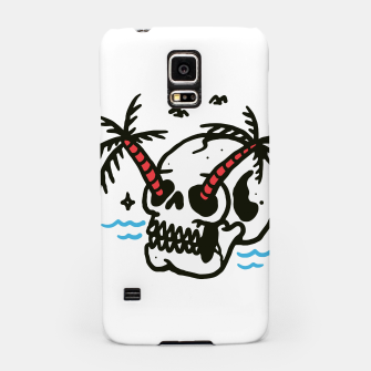 Thumbnail image of Skull Coconut Trees Samsung Case, Live Heroes