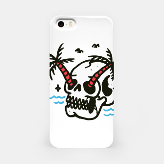 Thumbnail image of Skull Coconut Trees iPhone Case, Live Heroes