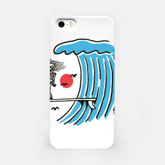 Miniatur Funny Surf Nose iPhone Case, Live Heroes