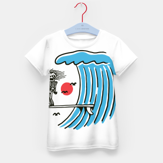 Thumbnail image of Funny Surf Nose Kid's t-shirt, Live Heroes