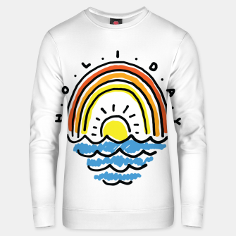 Thumbnail image of Holiday Beach Unisex sweater, Live Heroes