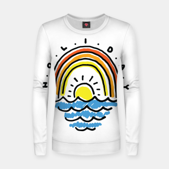 Thumbnail image of Holiday Beach Women sweater, Live Heroes