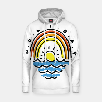 Thumbnail image of Holiday Beach Hoodie, Live Heroes