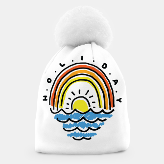Thumbnail image of Holiday Beach Beanie, Live Heroes