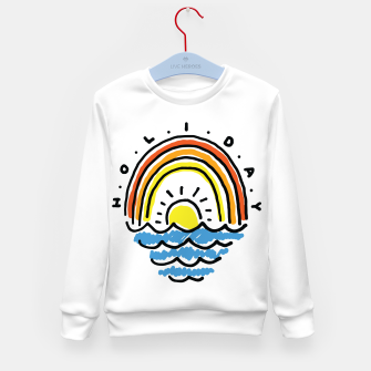 Thumbnail image of Holiday Beach Kid's sweater, Live Heroes