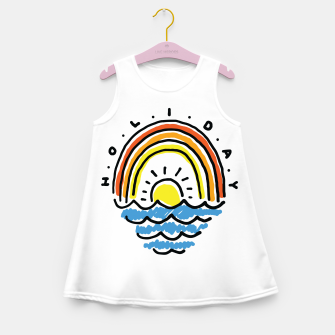 Thumbnail image of Holiday Beach Girl's summer dress, Live Heroes