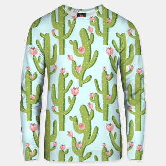 Thumbnail image of Summer Cactus Unisex sweater, Live Heroes