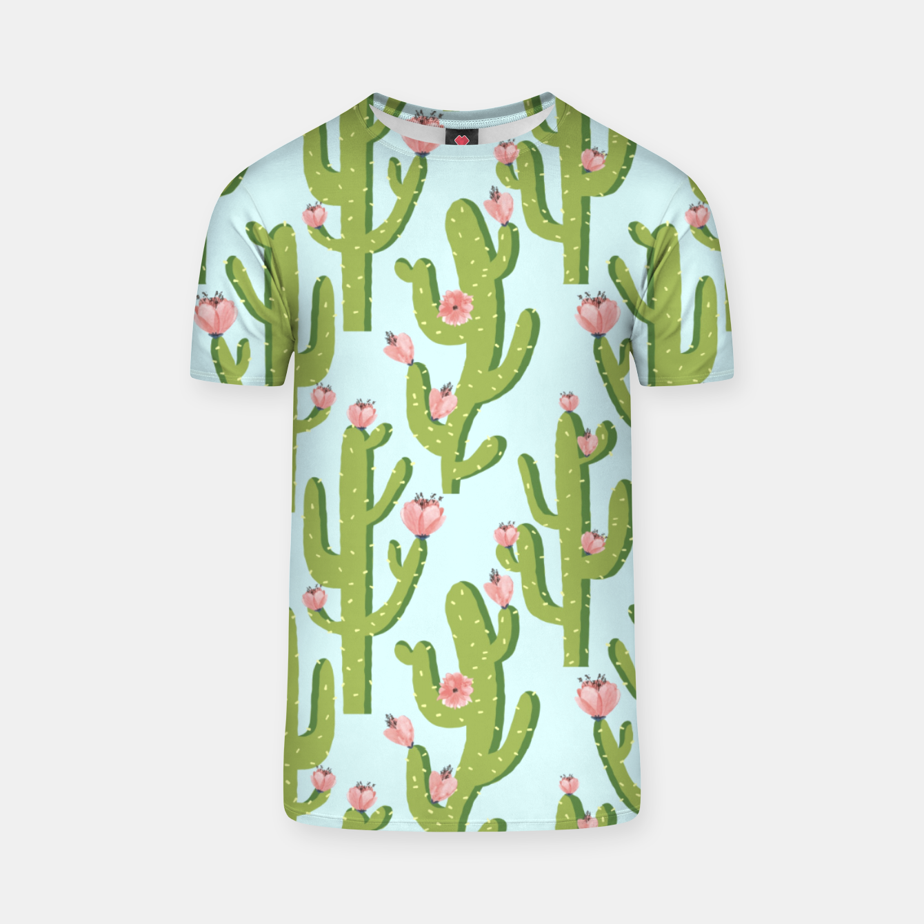 Image of Summer Cactus T-shirt - Live Heroes