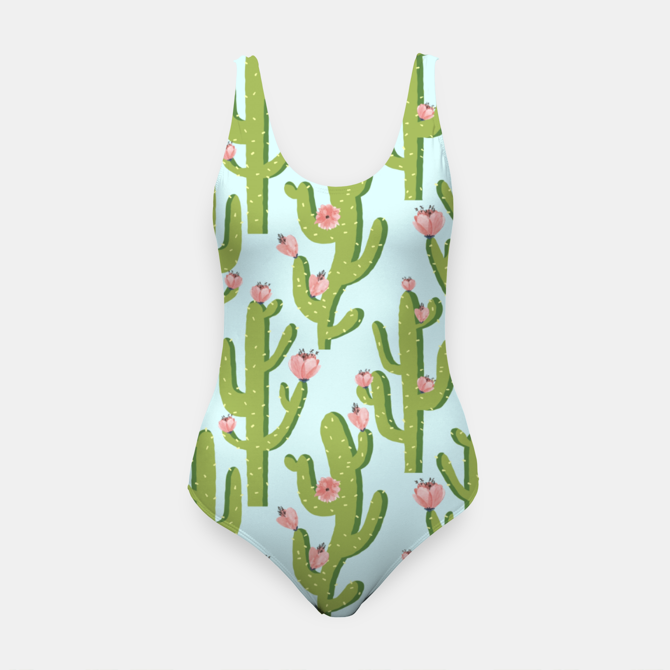 Image of Summer Cactus Swimsuit - Live Heroes