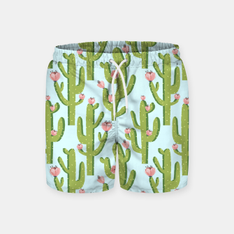 Thumbnail image of Summer Cactus Swim Shorts, Live Heroes