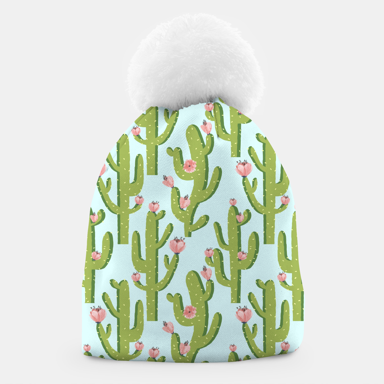 Image of Summer Cactus Beanie - Live Heroes