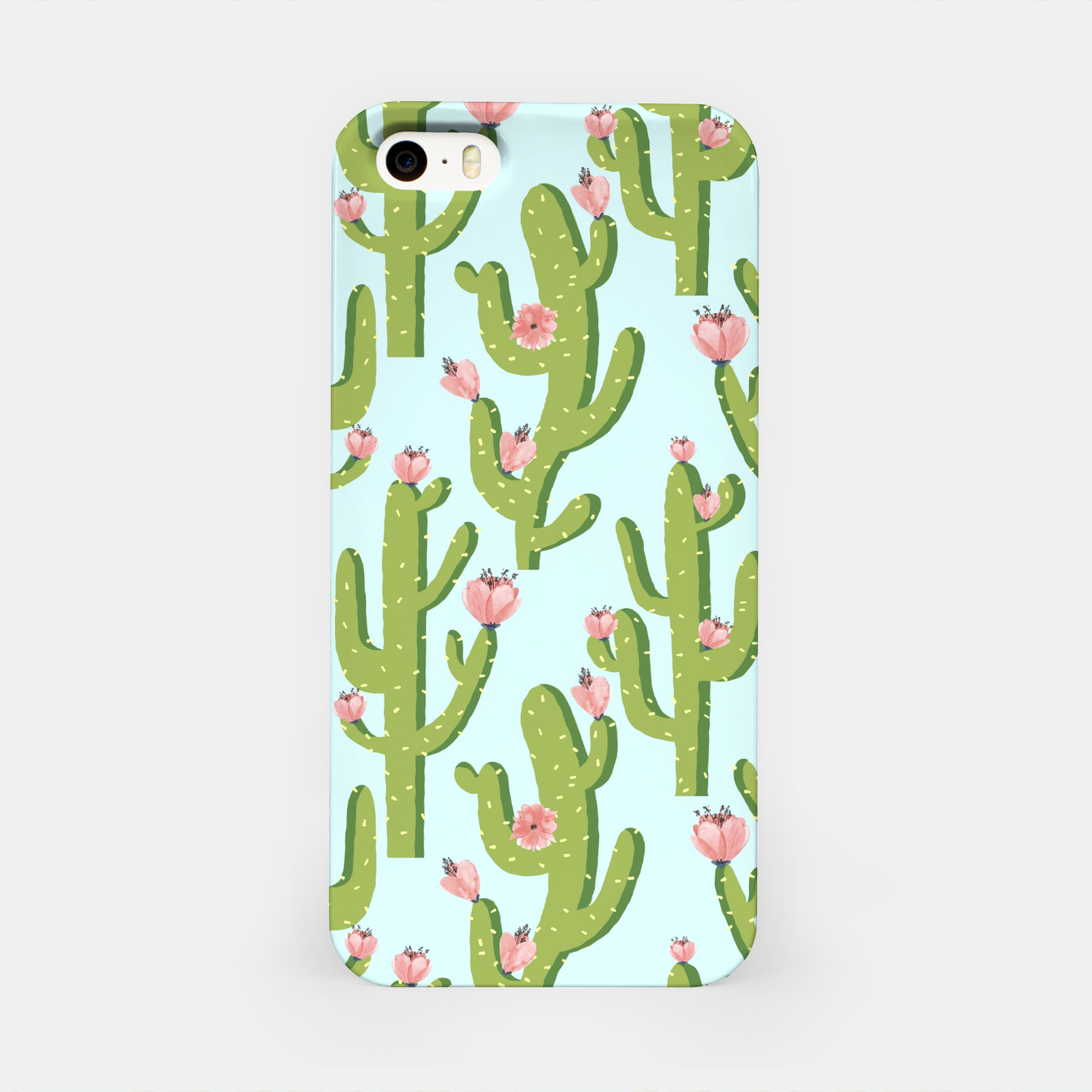 Image of Summer Cactus iPhone Case - Live Heroes