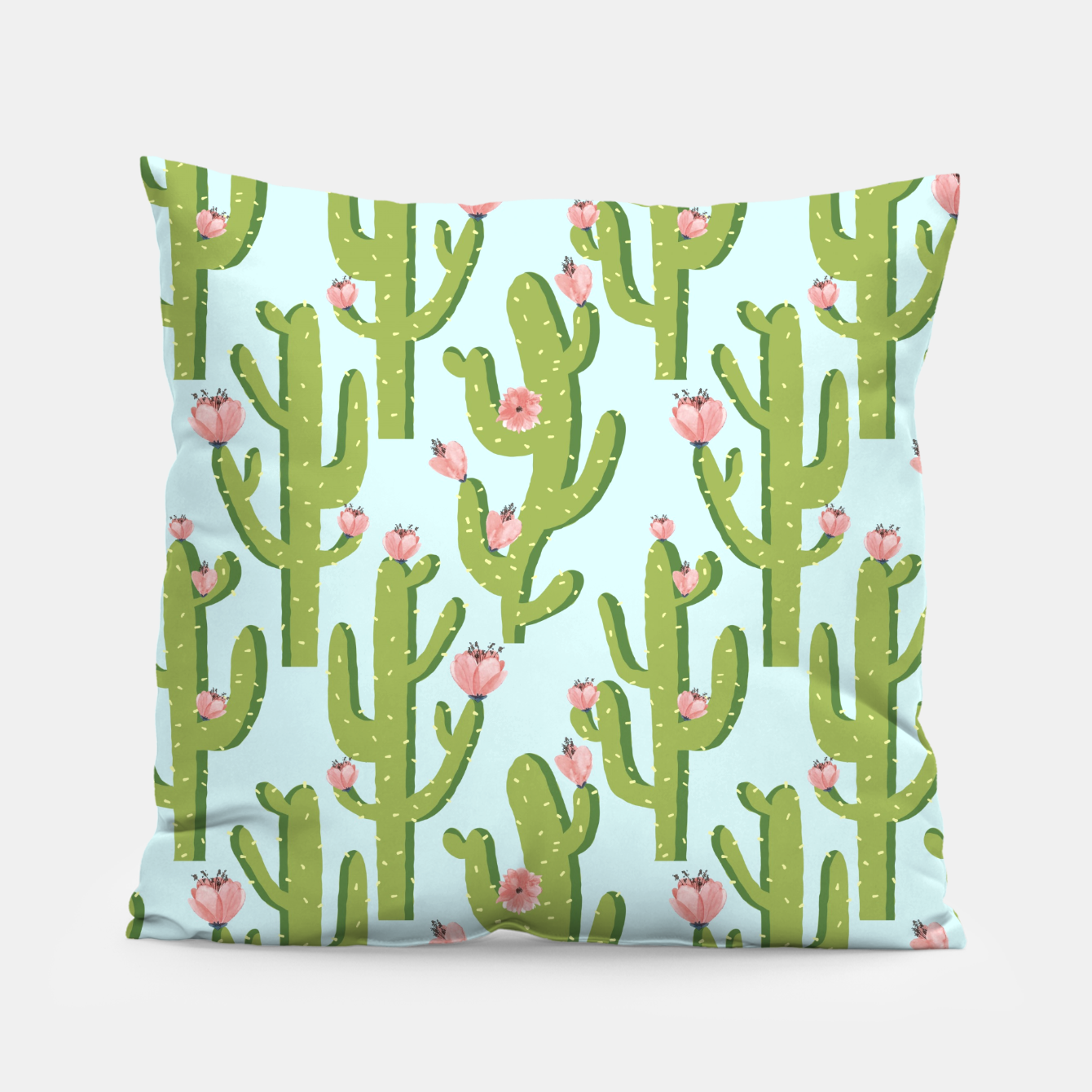 Image of Summer Cactus Pillow - Live Heroes