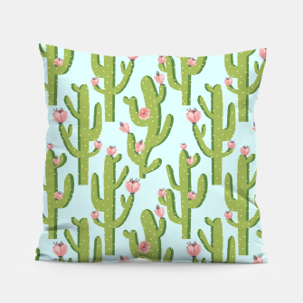 Thumbnail image of Summer Cactus Pillow, Live Heroes