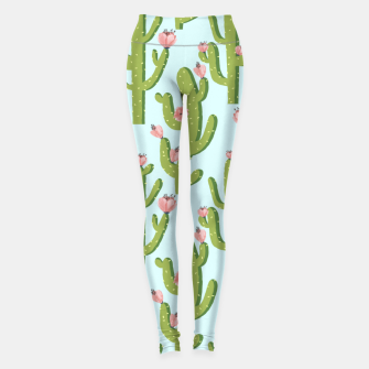 Thumbnail image of Summer Cactus Leggings, Live Heroes