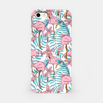 Boho Flamingo iPhone Case thumbnail image