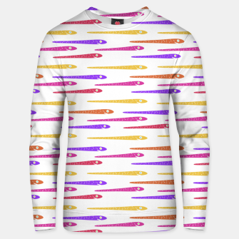 Miniaturka Cartoon Style Snakes Drawing Motif Pattern Unisex sweater, Live Heroes