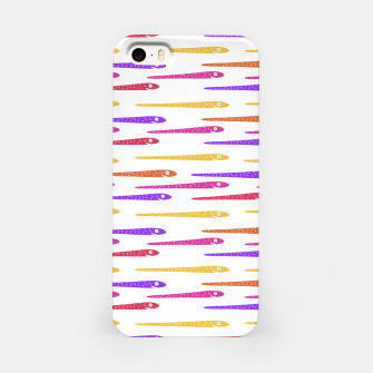 Miniaturka Cartoon Style Snakes Drawing Motif Pattern iPhone Case, Live Heroes