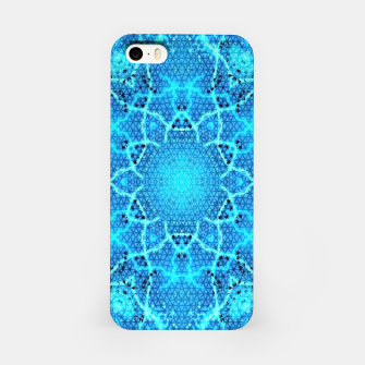 Thumbnail image of Blue Grid Pattern iPhone Case, Live Heroes