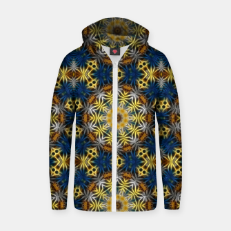 Thumbnail image of Daisies Kaleidoscope Zip up hoodie, Live Heroes