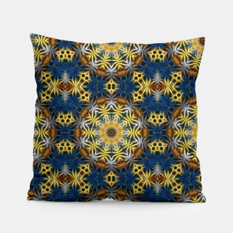 Thumbnail image of Daisies Kaleidoscope Pillow, Live Heroes