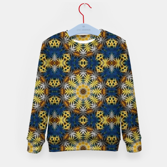 Thumbnail image of Daisies Kaleidoscope Kid's sweater, Live Heroes
