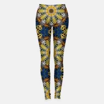 Thumbnail image of Daisies Kaleidoscope Leggings, Live Heroes