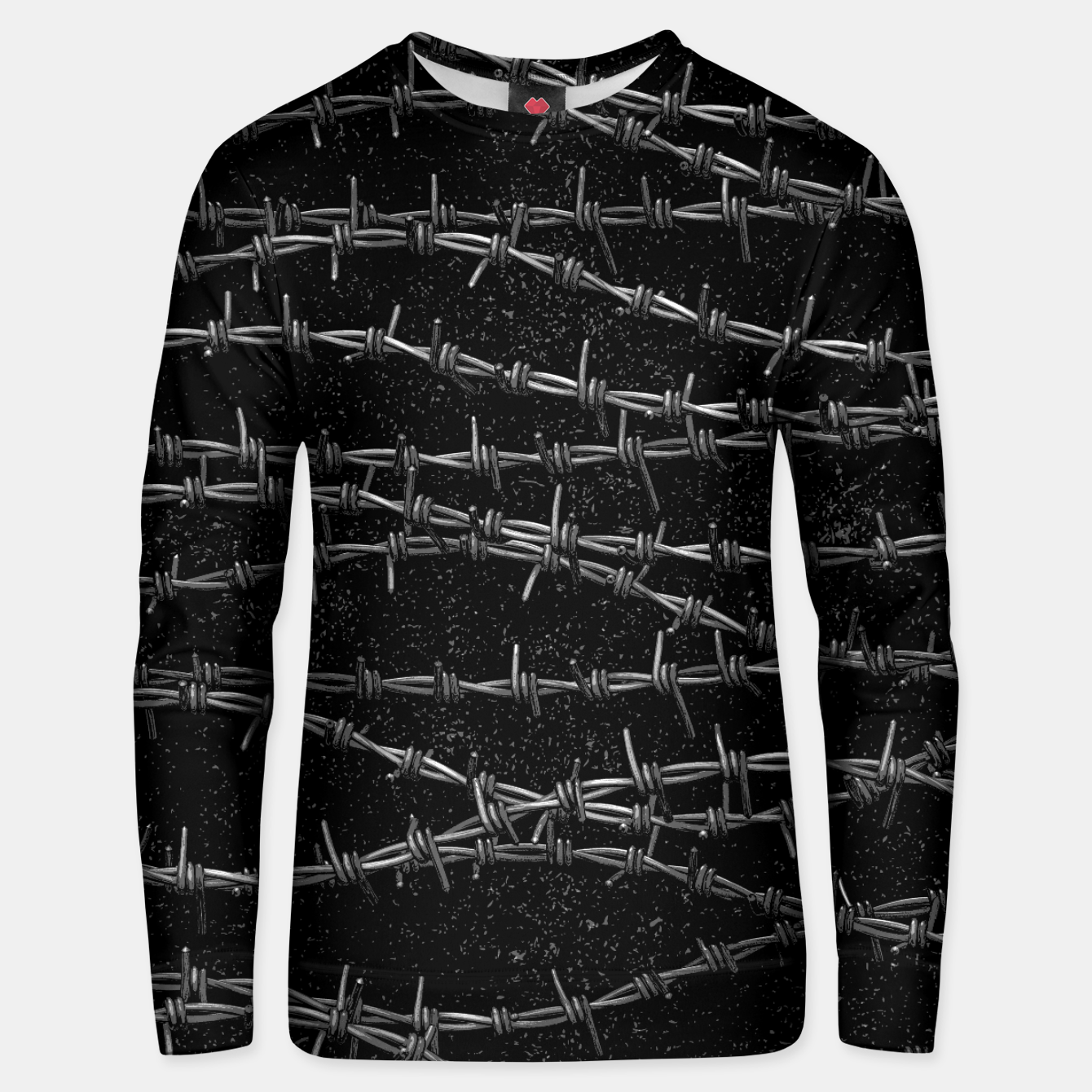 Image of Bouquets of Barbed Wire Unisex sweater - Live Heroes
