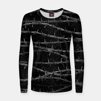 Thumbnail image of Bouquets of Barbed Wire Women sweater, Live Heroes