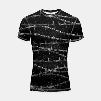 Bouquets of Barbed Wire Shortsleeve rashguard thumbnail image