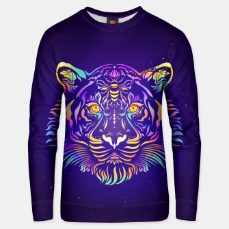 Miniatur Psychedelic Tiger by #Bizzartino Unisex sweater, Live Heroes