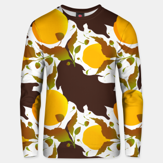 Closed roses bud on white Sudadera unisex thumbnail image