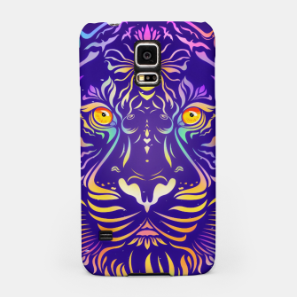Miniatur Psychedelic Tiger by #Bizzartino Samsung Case, Live Heroes