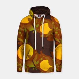 Thumbnail image of Closed roses bud on brown Sudadera con capucha, Live Heroes