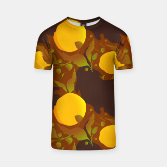 Thumbnail image of Closed roses bud on brown Camiseta, Live Heroes
