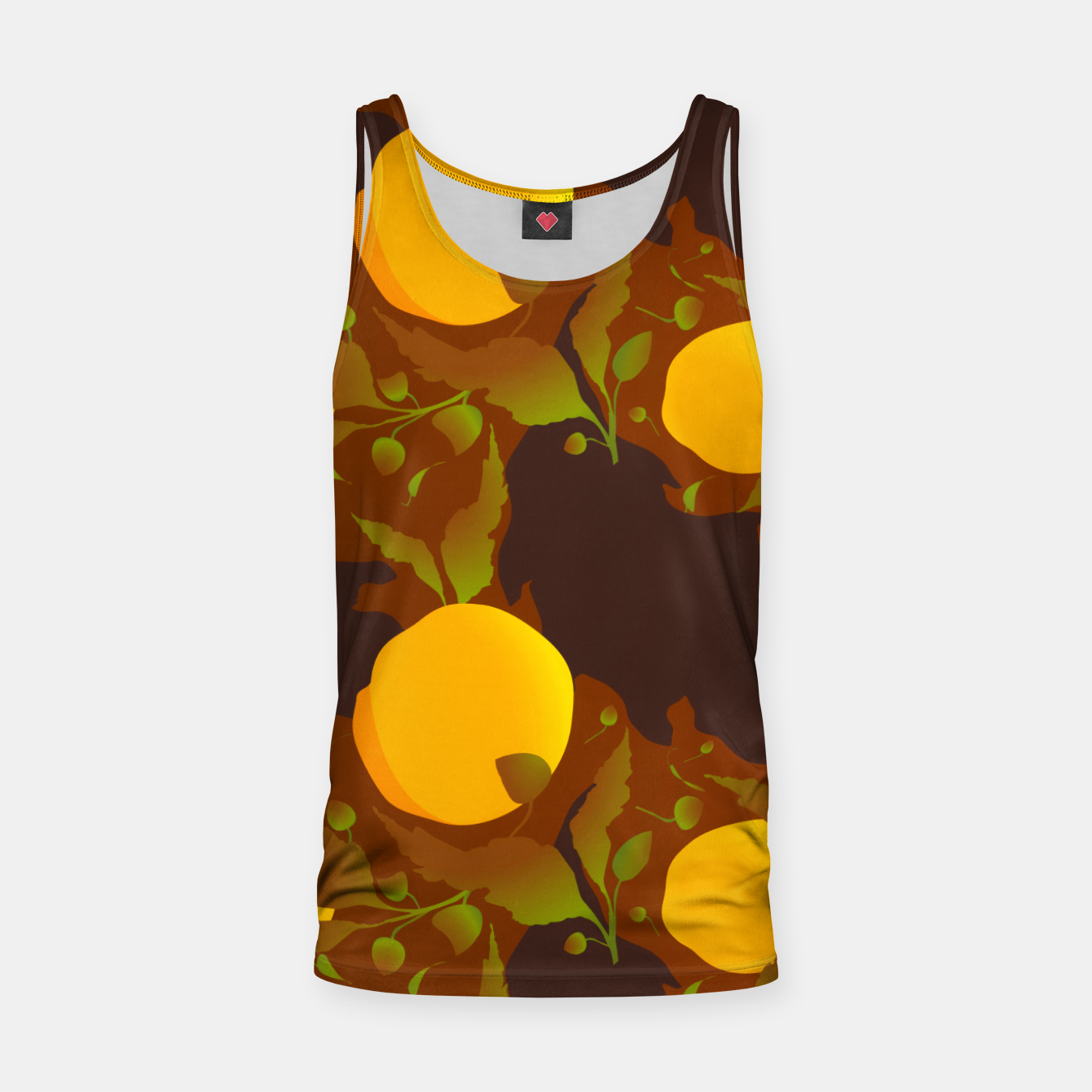 Image of Closed roses bud on brown Camiseta de tirantes - Live Heroes