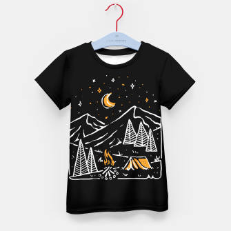 Thumbnail image of Night Relax Kid's t-shirt, Live Heroes