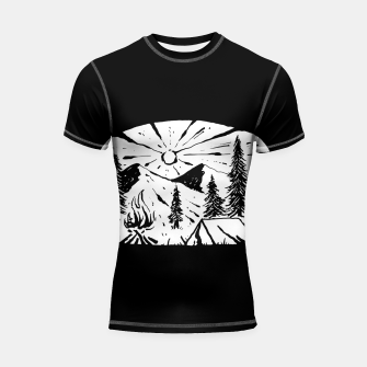 Thumbnail image of Nature Lover Shortsleeve rashguard, Live Heroes