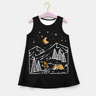 Thumbnail image of Night Relax Girl's summer dress, Live Heroes