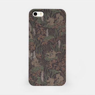 Thumbnail image of Bathing kitties in tropical mood iPhone Case, Live Heroes