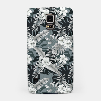 Thumbnail image of TROPICAL VACATION PRINT IN GREY Samsung Case, Live Heroes