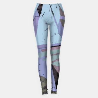 Thumbnail image of Broken window pane Leggings, Live Heroes