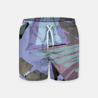 Thumbnail image of Broken window pane Swim Shorts, Live Heroes